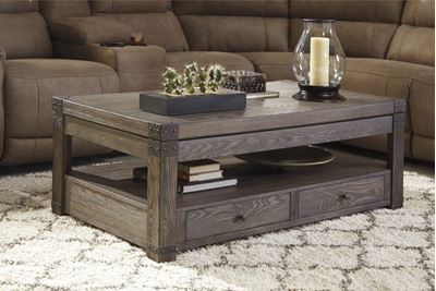 Picture of Burladen Rect Lift Top COFFEE Table * D
