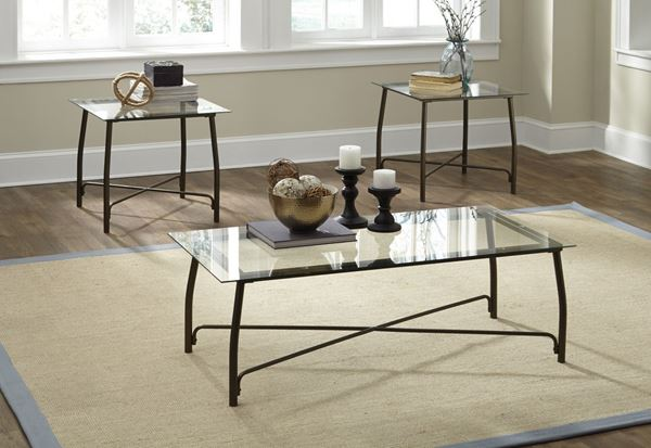 Picture of Burmesque Occasional Table Set (3/CN) * D