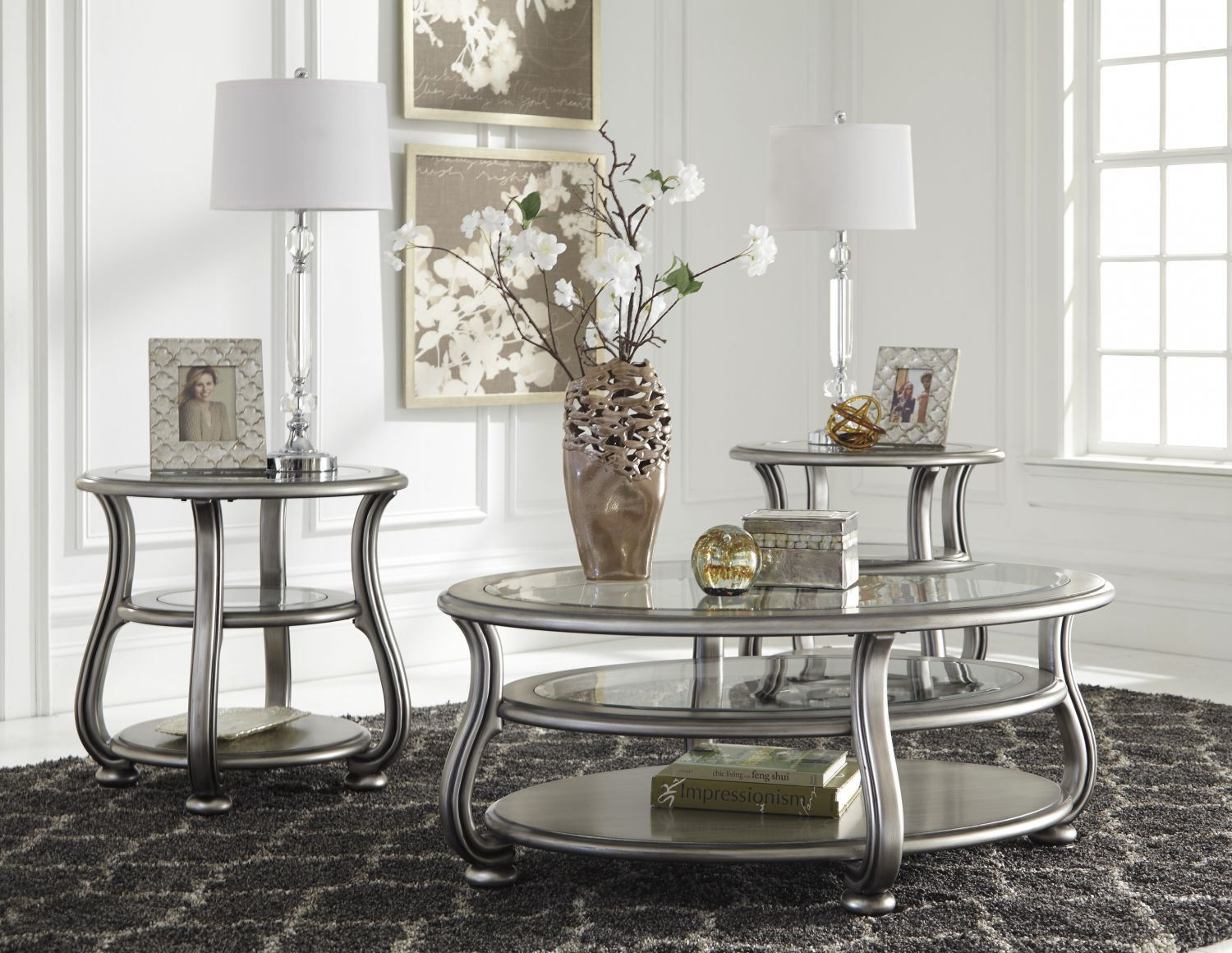 Picture of Coralayne Oval COFFEE Table * D