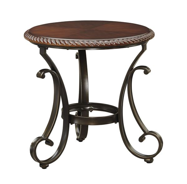 Picture of Gambrey Round End Table * D
