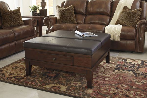 Picture of Gately Ottoman COFFEE Table * D