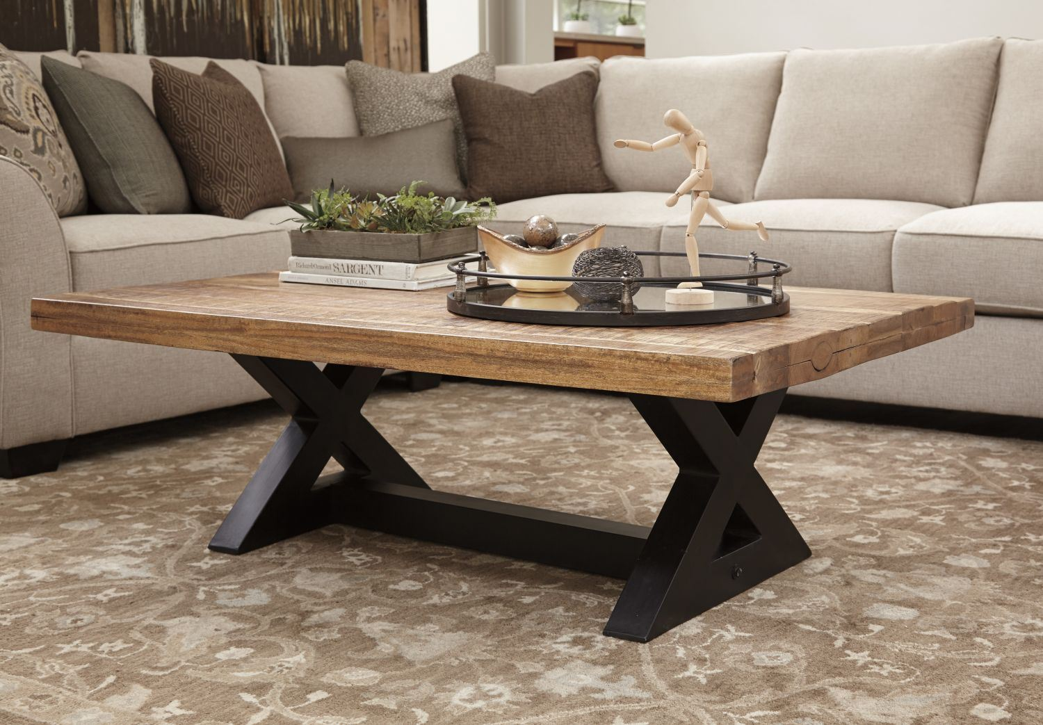 Wesling Rectangular Coffee Table D T873 1 Ashley