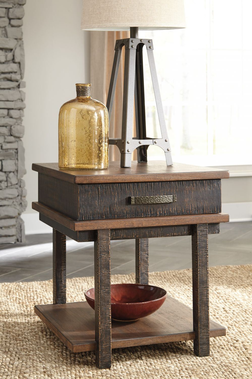 Picture of Stanah Rectangular End Table * D