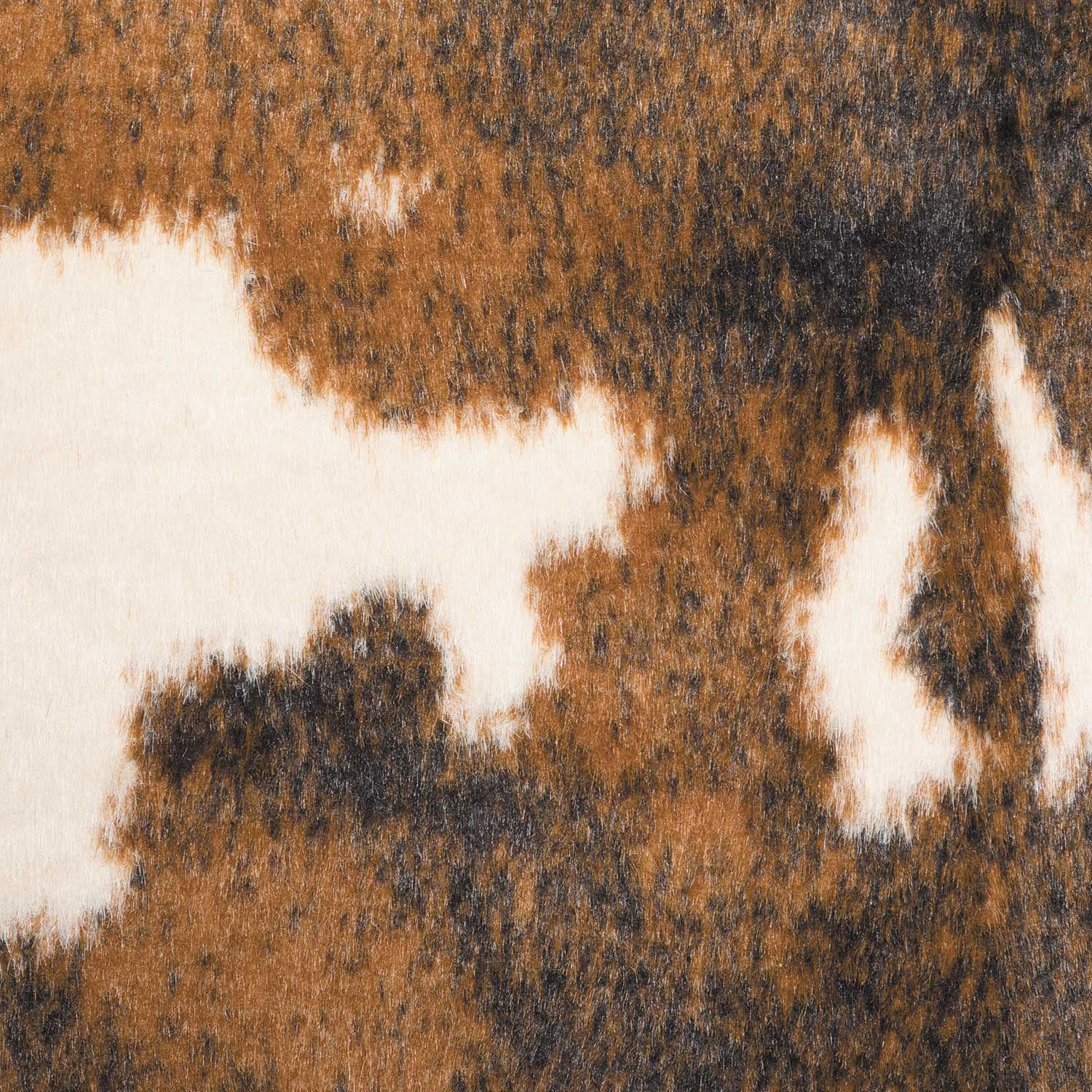 Picture of Beige Brown Faux Hide Rug