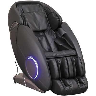 Picture of Black Massage Chair with Bluetooth Technology