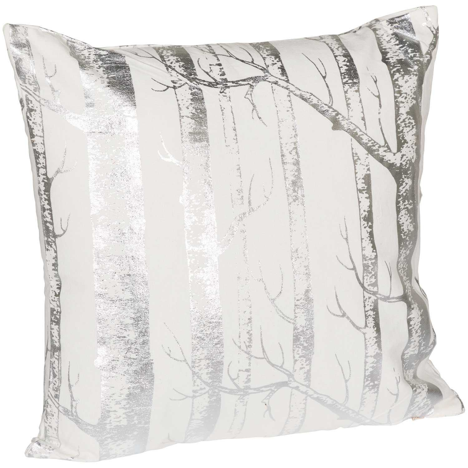 Picture of 18X18 Silver Aspens Decorative Pillow