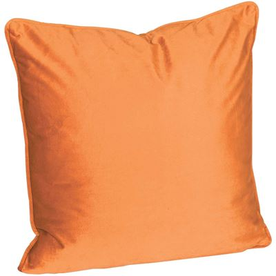Picture of 18X18 Rust Velvet Decorative Pillow