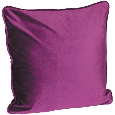 Picture of 18X18 Eggplant Velvet Pillow