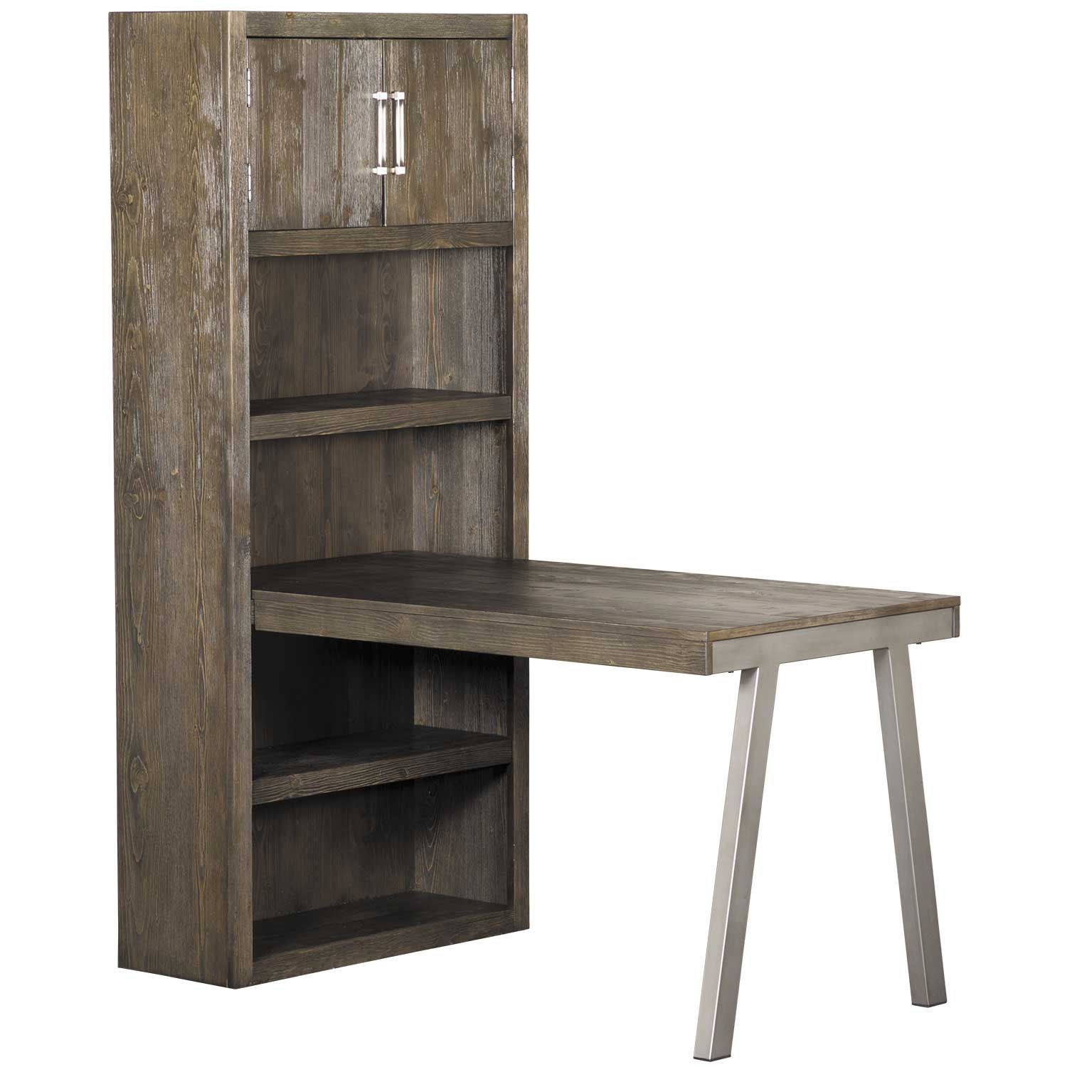 Picture of Raventown Large Bookcase Desk Return