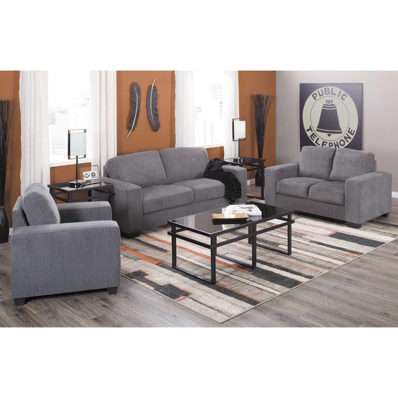 Charleston Dark Gray Sofa
