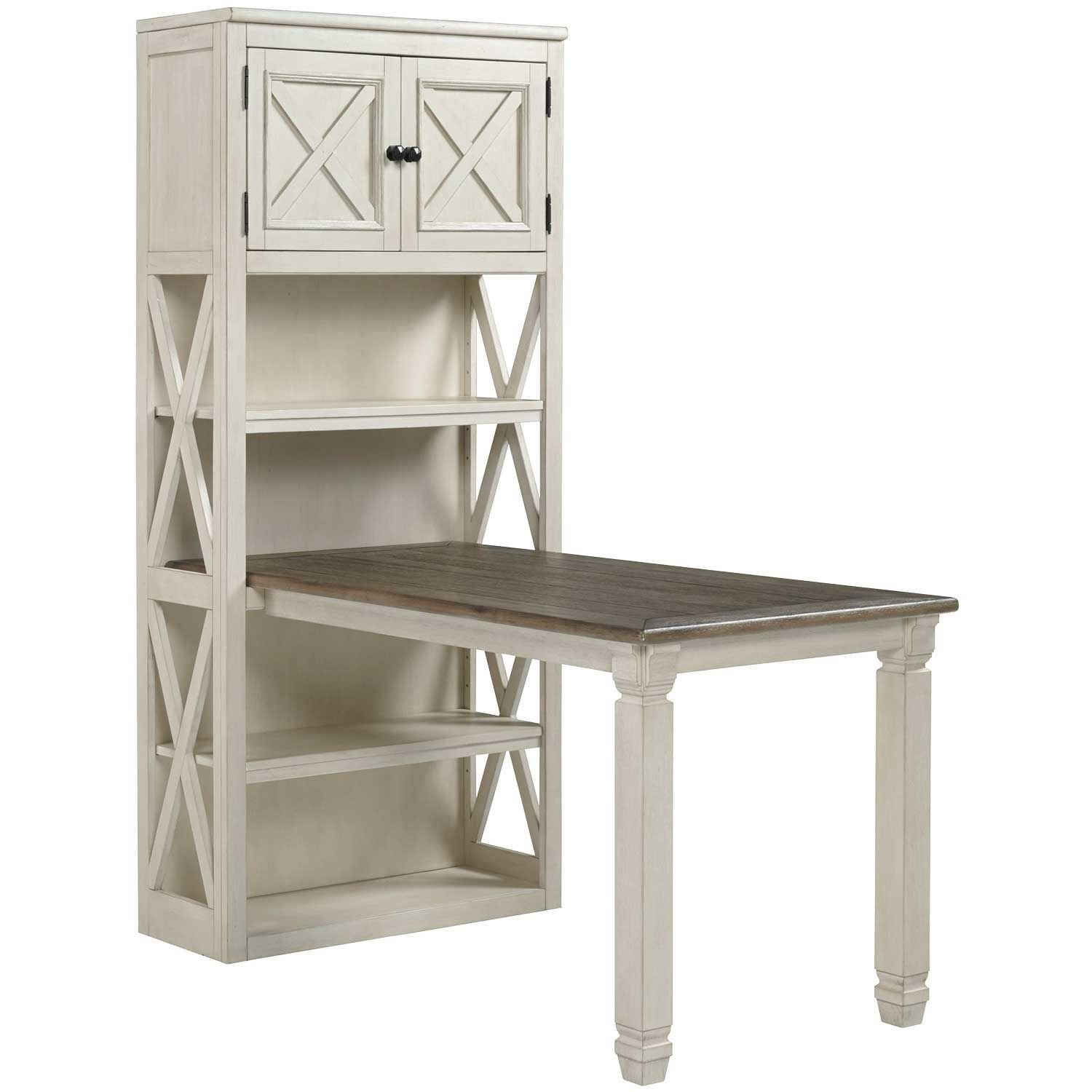 Bolanburg Large Bookcase Desk Return H647 14 17 Ashley