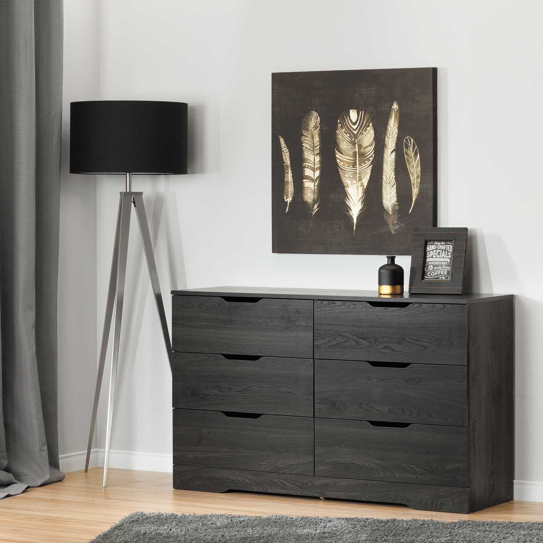 Picture of Holland Gray Oak Dresser