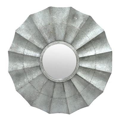 Picture of Galvanized Framed Mirror