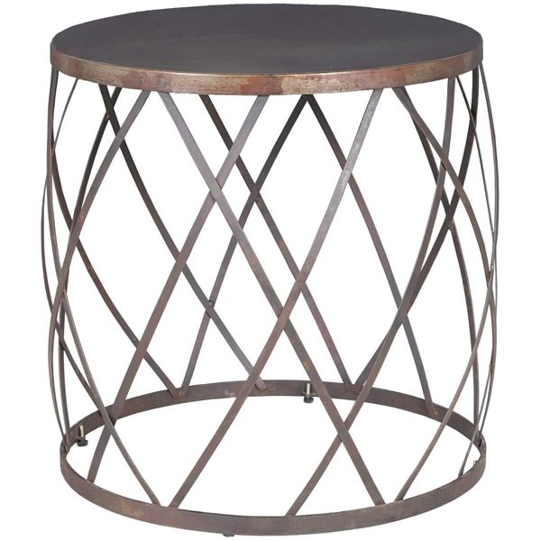 Picture of Iron Round Side Table