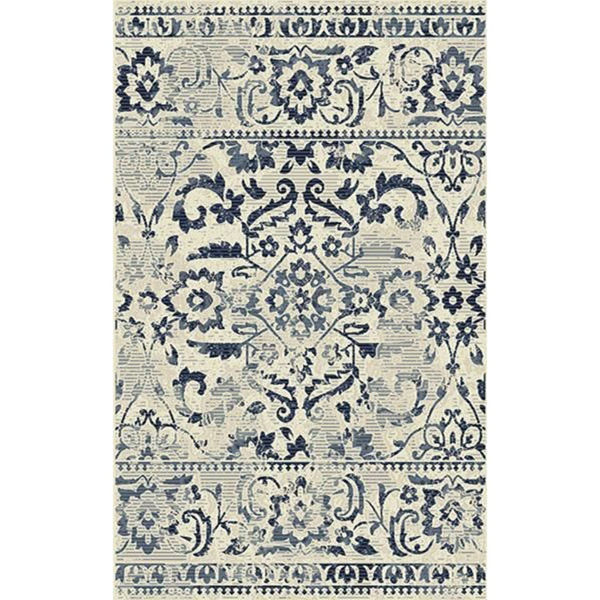 Picture of Milan Distressed Medallions 5x8 Rug
