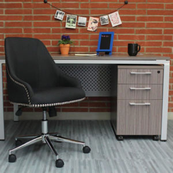 Picture of Boss Carnegie Desk Chair - Black* D