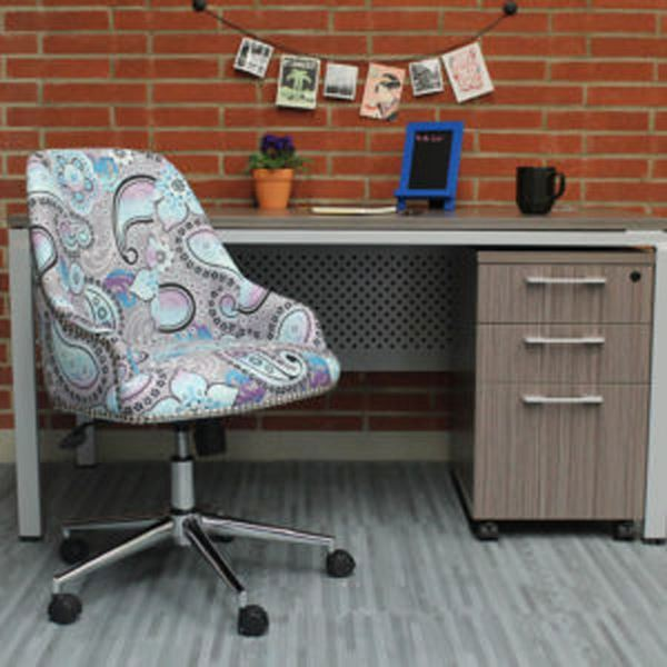 Picture of Boss Carnegie Desk Chair - Paisley* D