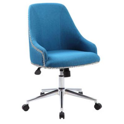 Picture of Boss Carnegie Desk Chair - Peacock Blue* D