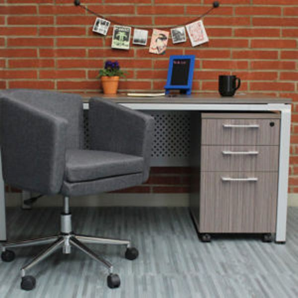 Picture of Boss Metro Club Desk Chair - Slate Grey* D