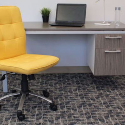 Picture of Modern Office Chair - Yellow * D