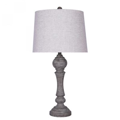 Picture of Reclaimed Grey Finish Table Lamp