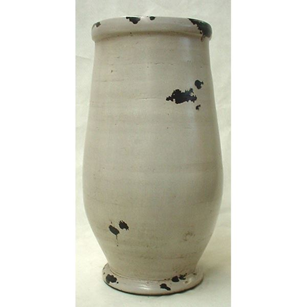 Picture of Distressed White Wide Top Vase