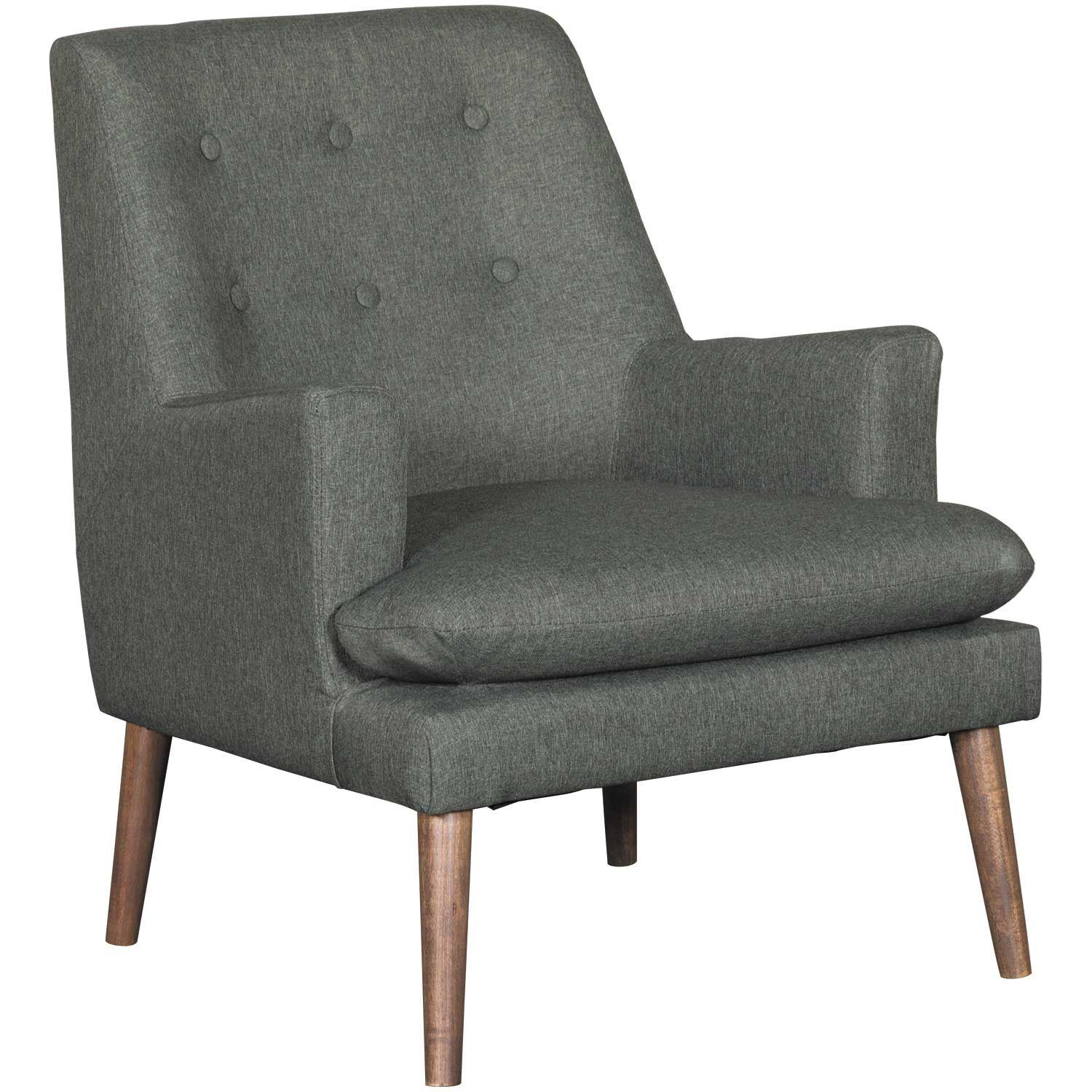 Modern Unique Accent Chairs.Urban Grey Accent Chair