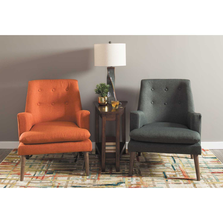 Urban Grey Accent Chair