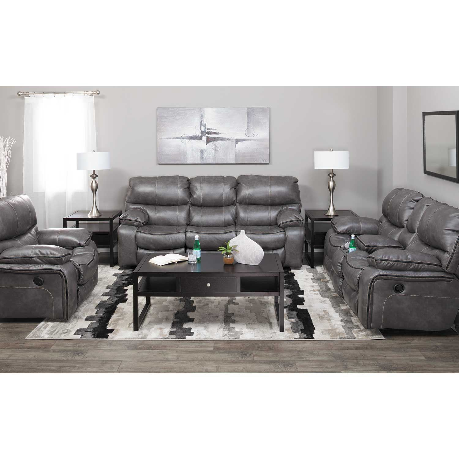 Picture of Camden Steel Power Reclining Sofa