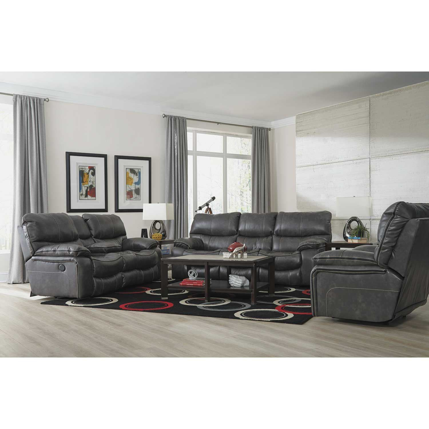 Picture of Camden Steel Reclining Sofa