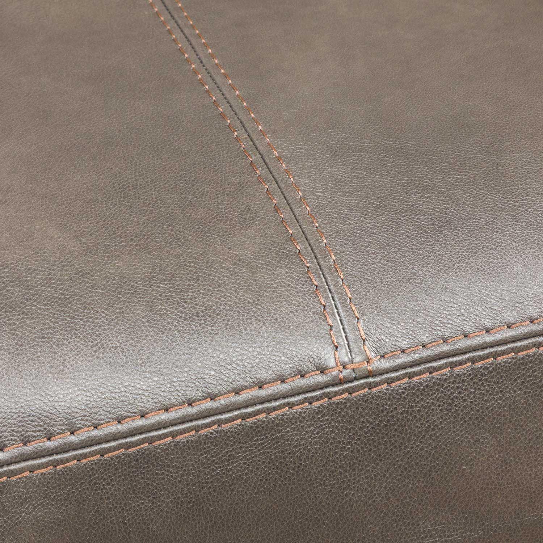 Picture of Denali Italian Leather 40x40 Ottoman