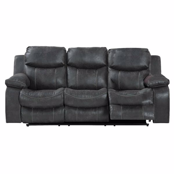 Steel Power Reclining Sofa 64311