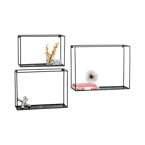Picture of Set 3 Quadro Wall Shelves