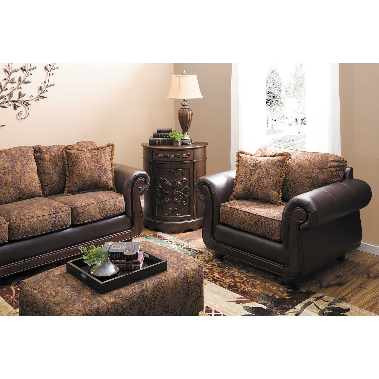 Picture of Kiser Cappuccino Loveseat