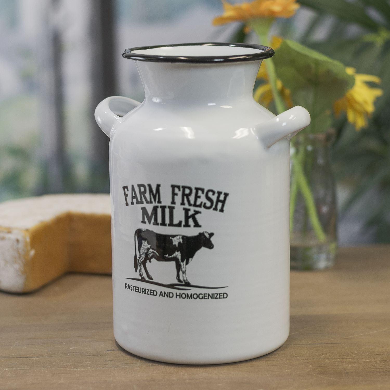 Picture of Enamel Fresh Milk Crock
