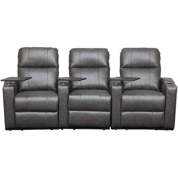 Picture of Gray 3 Piece Theater Sectional