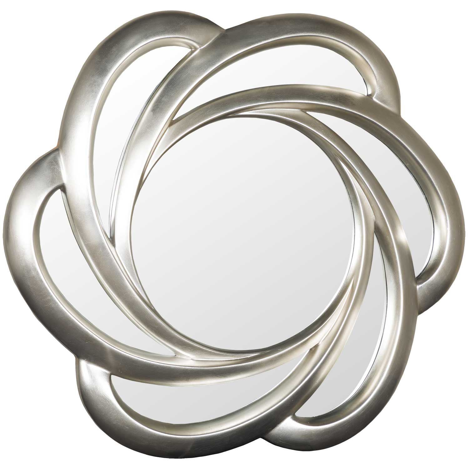 Picture of Swirled Silver Wall Mirror