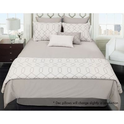 Picture of Kensil Queen 8 Piece Comforter Coverlet