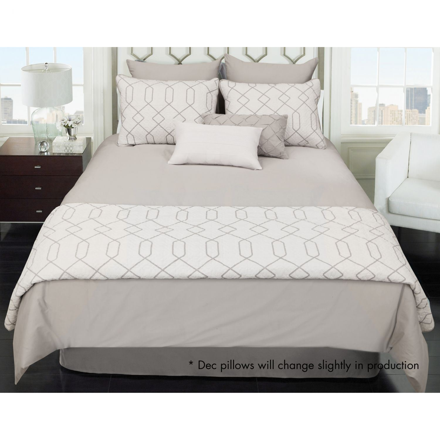 Kensil King 8 Piece Comforter Coverlet