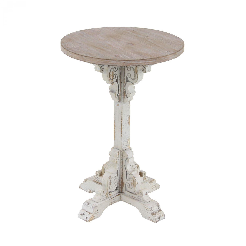 - Antique White Accent Table Home Accents AFW.com