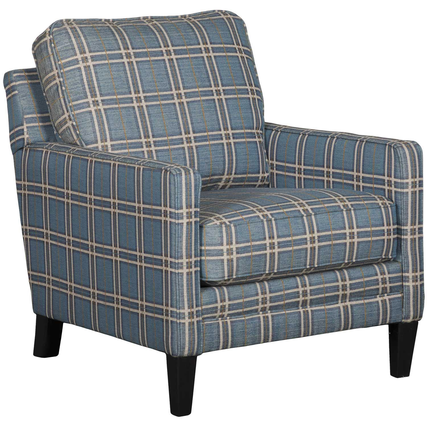 Picture of Traemore Plaid Accent Chair