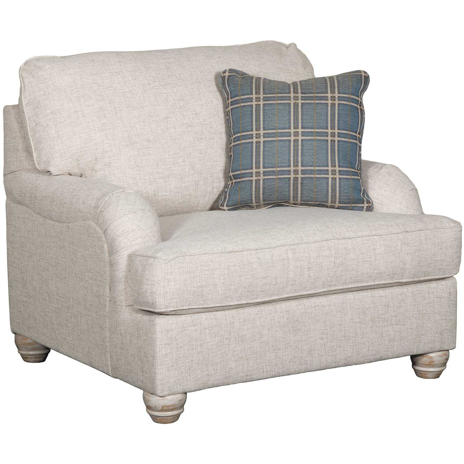 Picture of Traemore Linen Chair and a Half