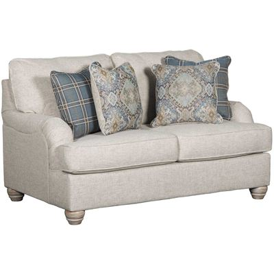 Picture of Traemore Linen Loveseat