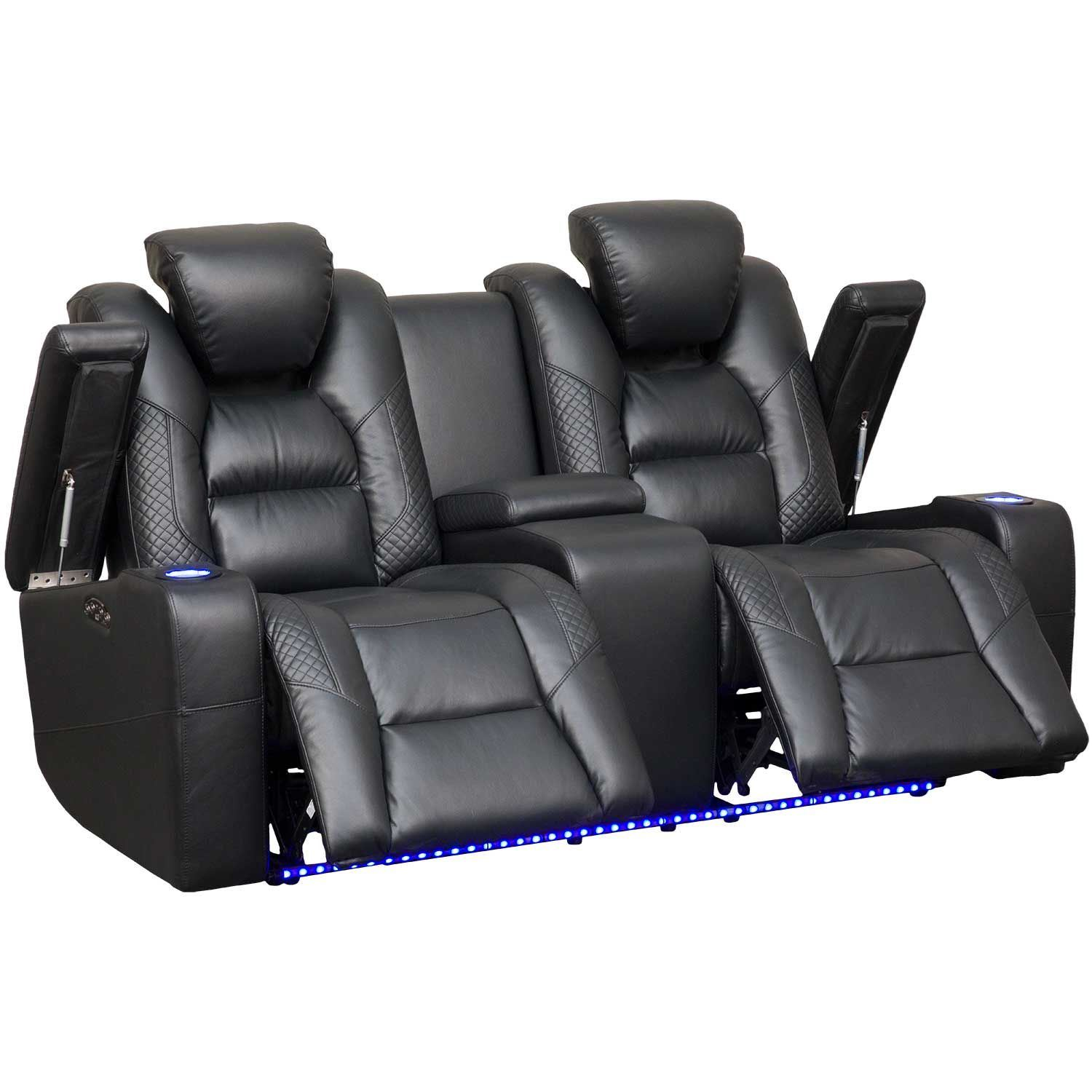 Marvelous Ryker Power Reclining Console Loveseat Caraccident5 Cool Chair Designs And Ideas Caraccident5Info