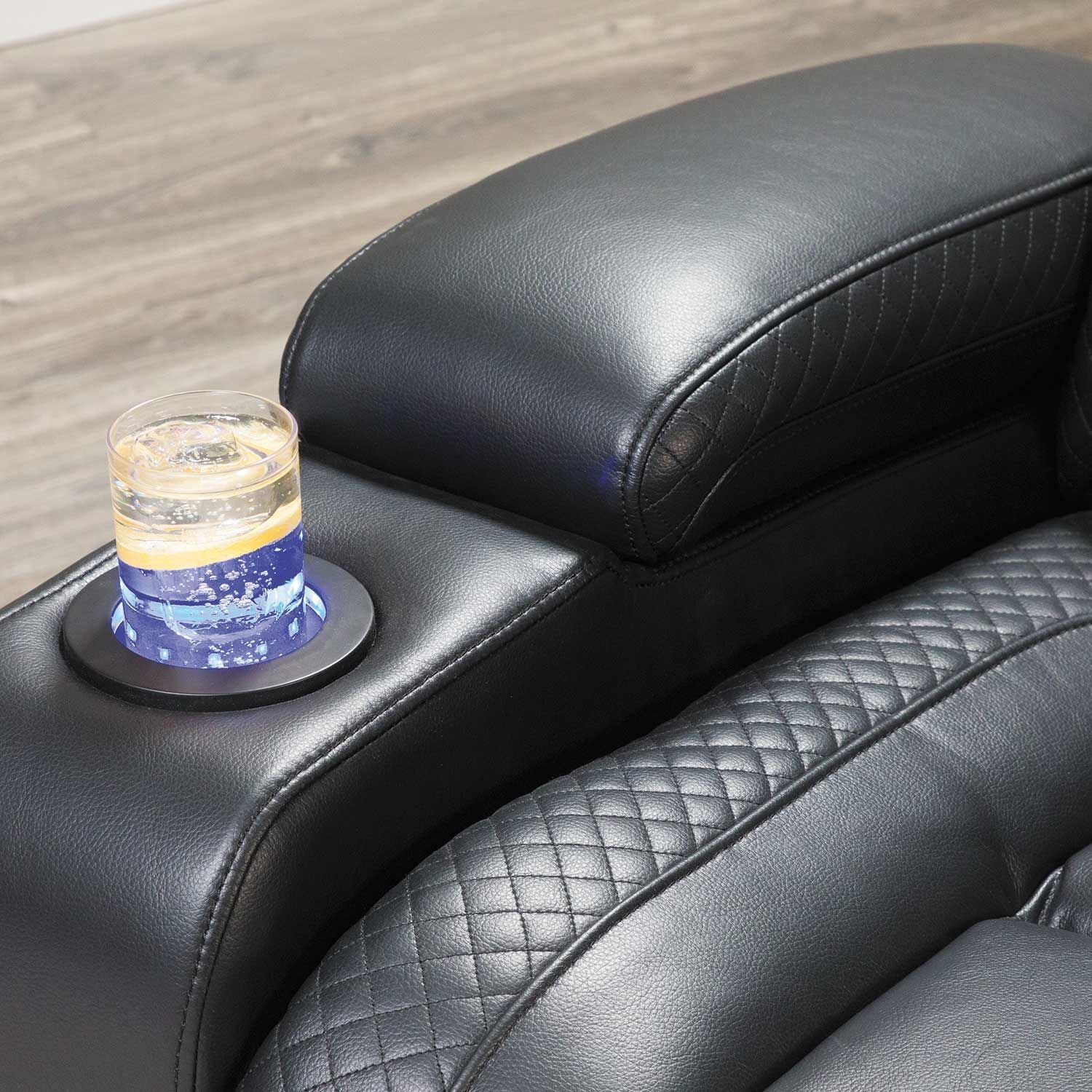 Amazing Ryker Power Reclining Console Loveseat Caraccident5 Cool Chair Designs And Ideas Caraccident5Info