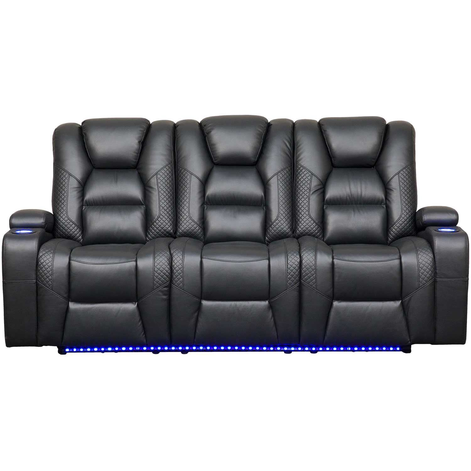 Incredible Ryker Power Reclining Sofa With Drop Table Gamerscity Chair Design For Home Gamerscityorg