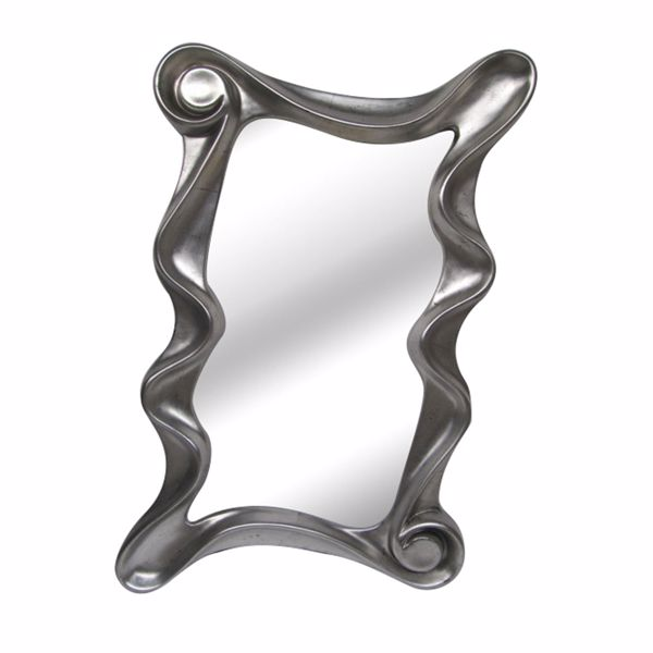 Picture of Contemporary Squiggle Mirror