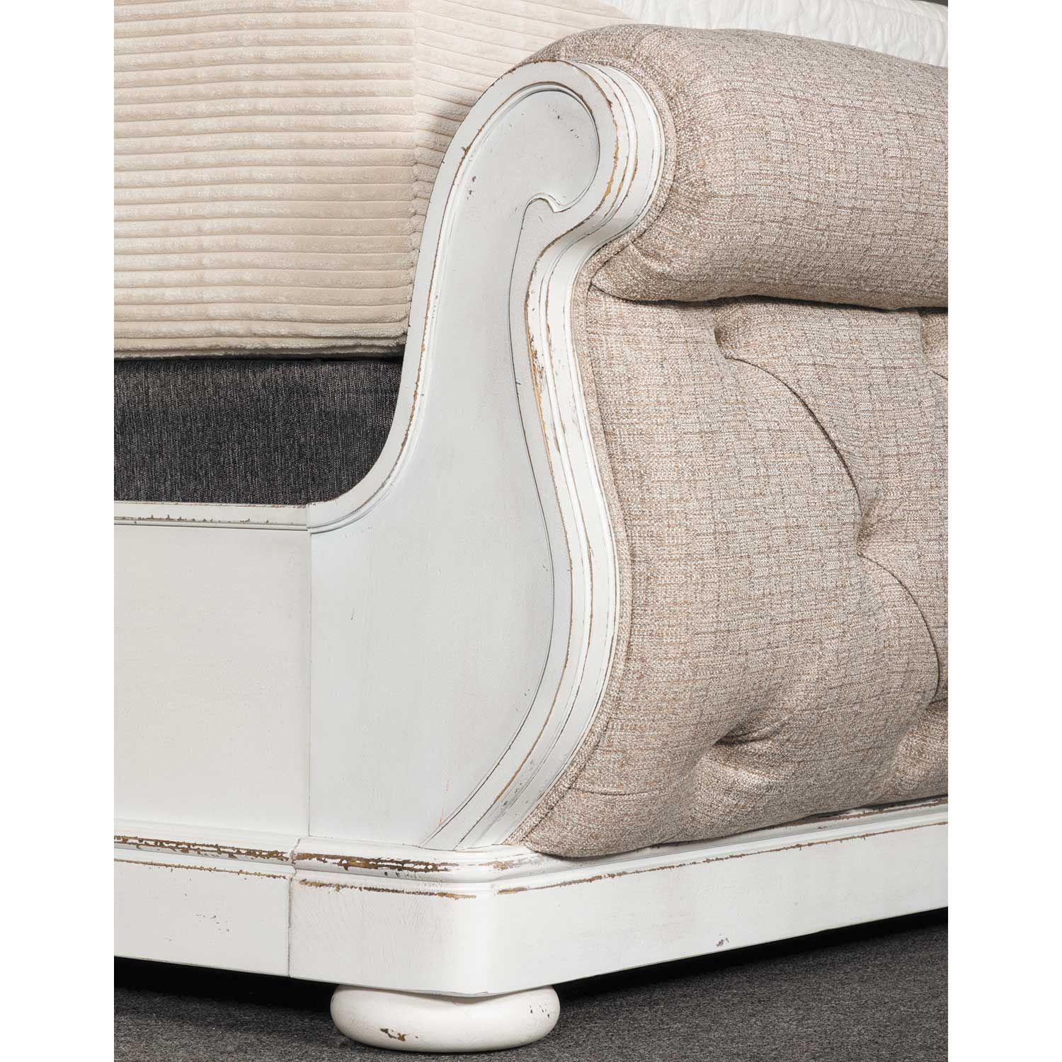 Picture of Magnolia Upholstered Sleigh Queen Bed
