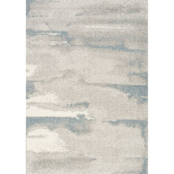 Picture of Sable Soft Blue, Ivory and Grey 5x8 Rug