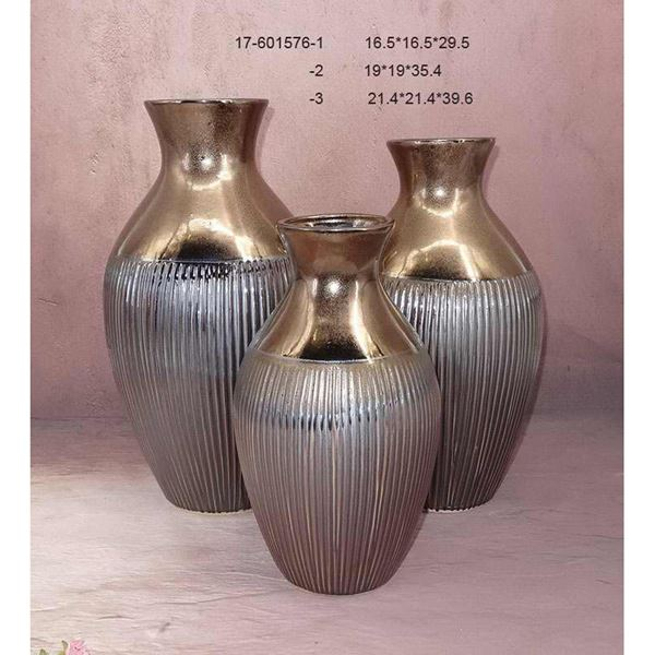 Picture of Metallic Two Tone Vase